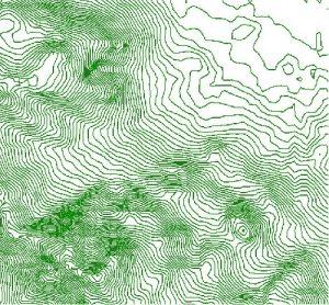 نقشه توپوگرافی  استان تهران