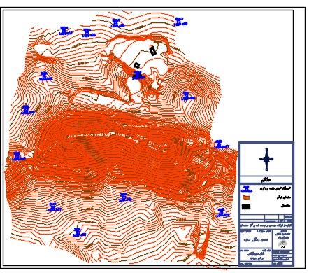 نقشه های توپوگرافی