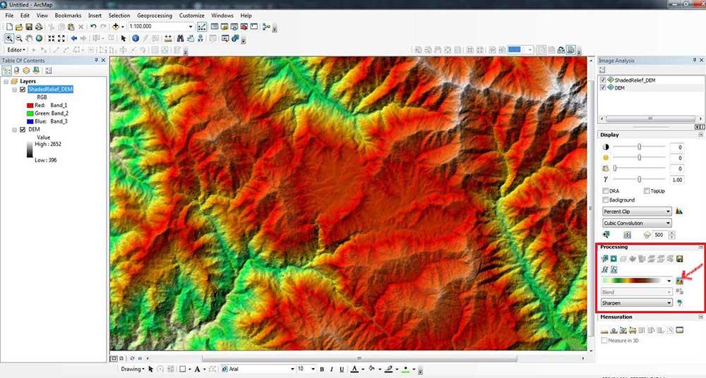 ترسیم و تهیه نقشه توپوگرافی آنلاین به کمک گوگل ارث